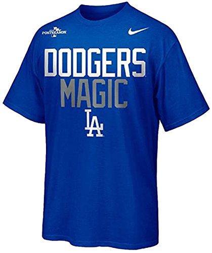 Mlb Nike Shirt Sleeve Short (Nike LA Los Angeles Dodgers MLB Leaders Pack Magic T-Shirt - Blue (Large))