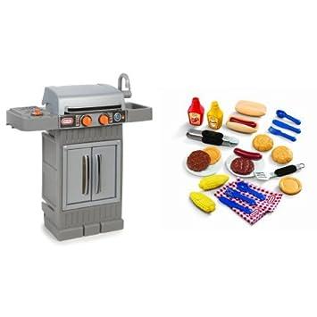 Amazon.com: Little Tikes cocina y crece, parrilla para ...