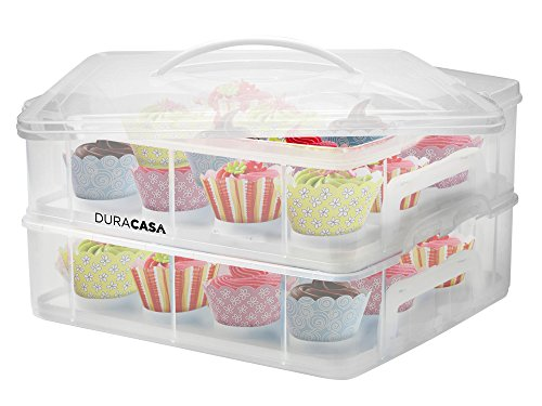 duracasa-cupcake-carrier-cupcake-holder-store-up-to-24-cupcakes-or-2-large-cakes-stacking-cupcake-st