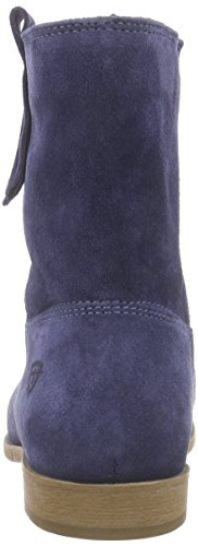 Tamaris 25326, Bottes courtes avec doublure intérieure femme Bleu - Bleu (NAVY 805)