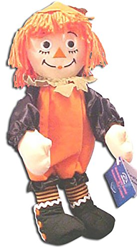 LARGE Raggedy Ann in Pumpkin Suit Dressed for Halloween Trick or Treat so Adorable -