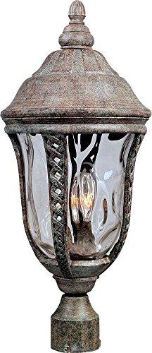 Maxim Lighting 3101WGET,Whittier Cast 3 Light Outdoor Pole/Post Lantern, Earth Tone For Sale