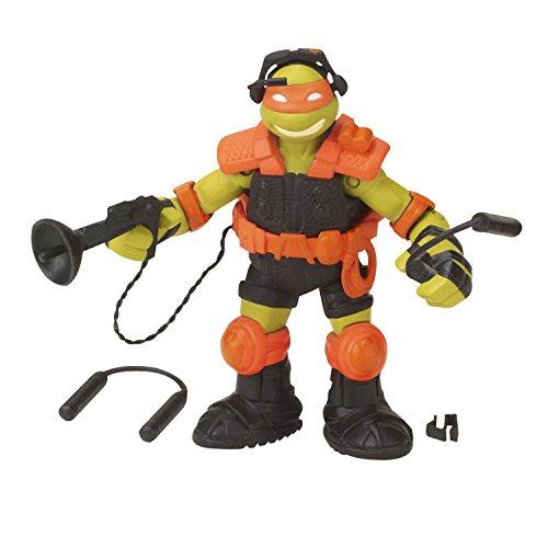 Teenage Mutant Ninja Turtles Stealth Tech Michelangelo Action Figure (Tmnt Zip Line)