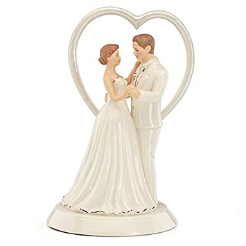 Amazing Heart Wedding Cake Topper By Lenox