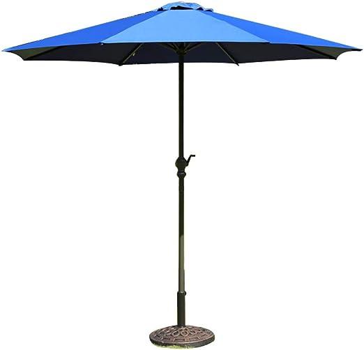 La Gracia Sombrilla Ajustable para jardín al Aire Libre, 8.8 pies ...