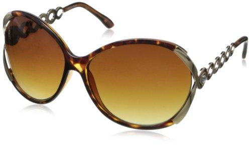Rocawear R3123 Oversized Sunglasses - Tortoise - 63 mm