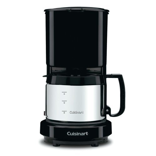 Cuisinart 4-Cup Coffeemaker with Brushed Stainless Carafe