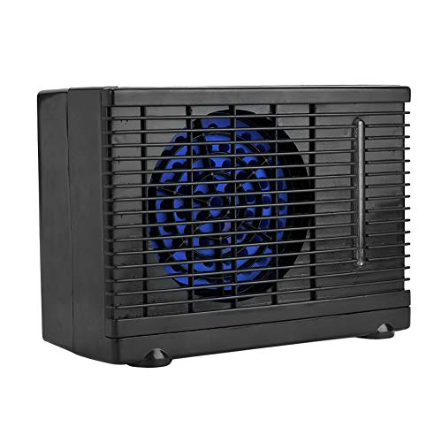Suuonee Portable Air Conditioner, 12V Aluminium alloy Portable Car Adjustable Air Conditioner Cooler Cooling Fan Water Ice Evaporative Cooler