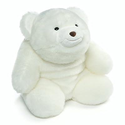 "GUND Snuffles Bear 120th Anniversary Plush Stuffed Animal 13"", White"