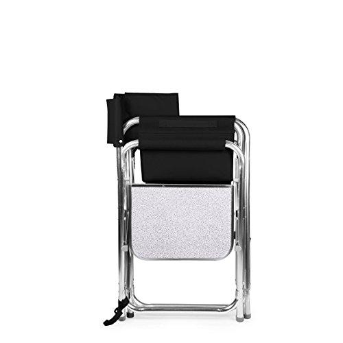 Picknick Zeit Tragbarer, faltbarer Sport Stuhl, schwarz, Einheitsgröße schwarz