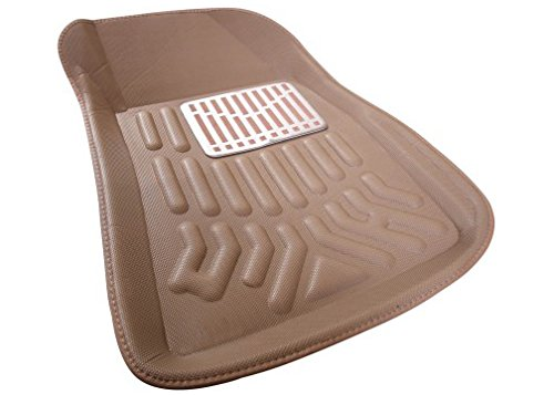 Autofurnish 3d Car Floor Mats Beige Complete Set For Volkswegan