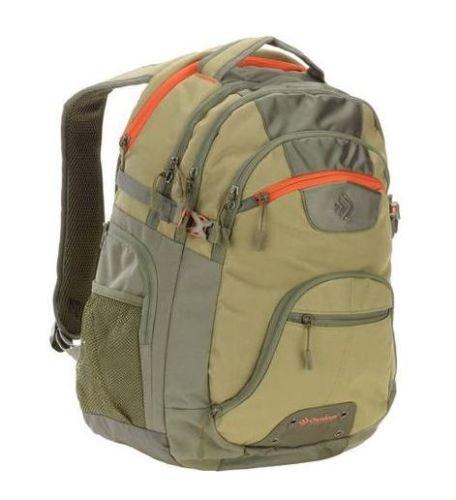 Sport Computer Travel Outdoor Backpack (Khaki) - 9