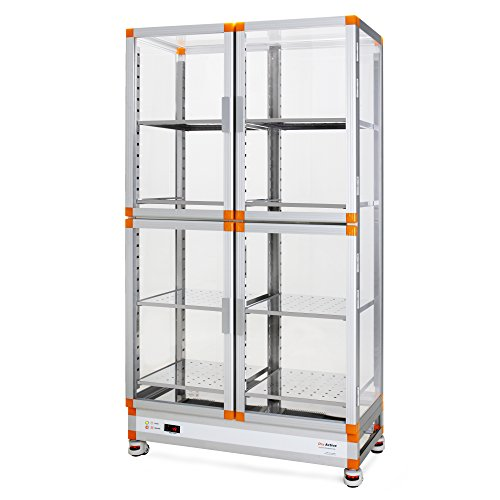 Dry Active_Auto Humidity Control Aluminum Desiccator Cabinet; Massive Storage