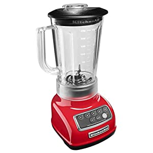 KitchenAid KSB1570ER 5-Speed Blender with 56-Ounce BPA-Free Pitcher – Empire Red
