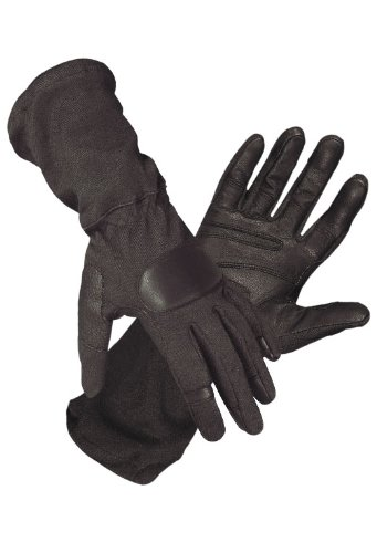 Hatch SOG-600 Operator Tactical Glove W/Goatskin, Black, Small ()