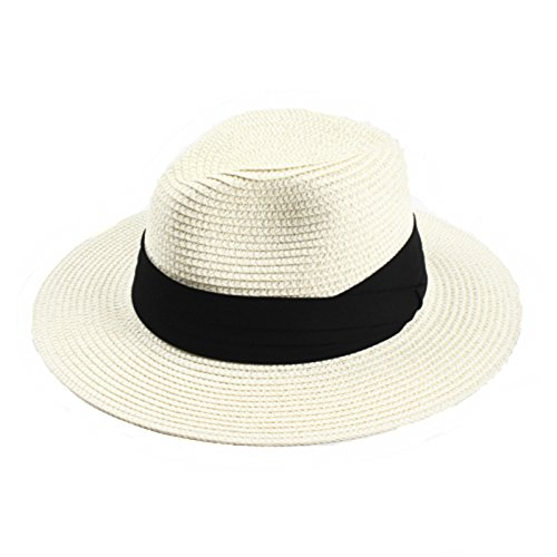 RAN Sombrero de verano para Lady Straw Hat Sombrero de playa Holiday Sun  Cap ( Tamaño fc01f8580f8