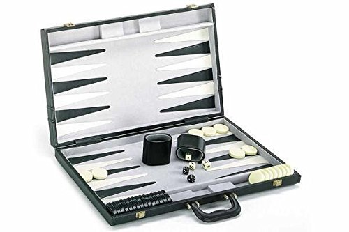 Backgammon Game Set with Deluxe Case