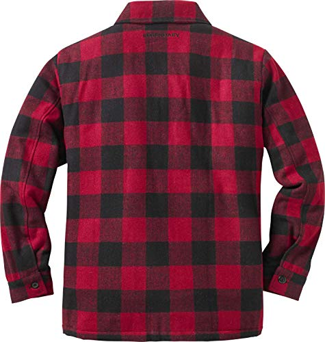 Buy red flannel jacket