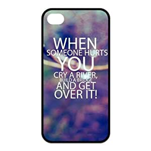 First Design Funny Quotes About Pleasure RUBBER iphone 4 4s Durable Case