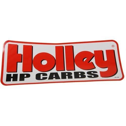 Holley 36-256 HP Carbs Decal - Heads Cylinder Holley