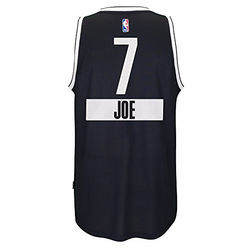 - Joe Johnson Brooklyn Nets NBA Adidas Men's Black 2014 Christmas Day Swingman Climacool Jersey (3XL)