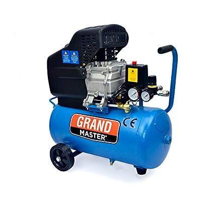 Compresor de Aire 24 litros Portátil Para Coches Compresores de aire Caudal 206L/Min