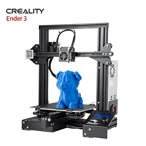 Ender 3 Creality 3D Printer Aluminum V-Slot Prusa I3 DIY Kits with Resume Printing 220x220x250mm for Home and School Use