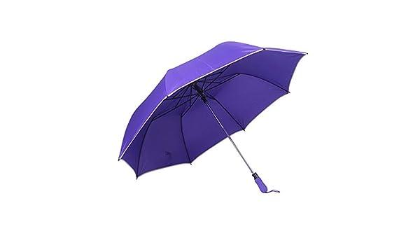 Comeyang Paraguas Compacto y a Prueba de Viento Que Abre y Cierra automáticamente el Paraguas Plegable,20% de Descuento en Paraguas de Golf y Paraguas de Lluvia para Dos Colores color3 120cm: Amazon.es: