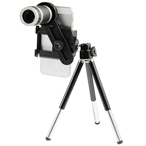 HD Telescope 8X Universal Zoom Telescope Lens with Tripod by Gladnt