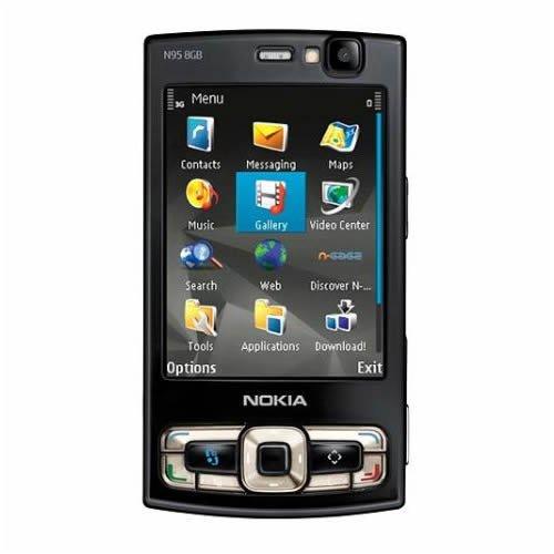 Unlocked Nokia N95 8gb