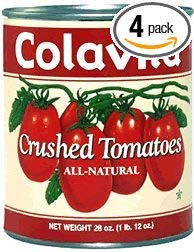Colavita - Italian Style Crushed Tomatoes, (4)- 28 oz. Cans