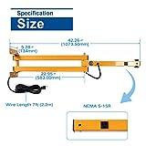 Swing Arm Led Light Arm - Made of Aluminum