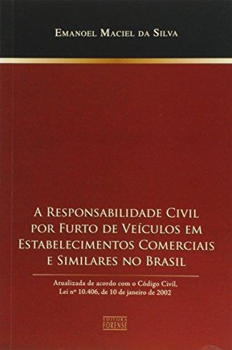 O Responsabilidade Civil Por Furto De Veículos Em Estabelecimentos Comerciais E Similares No Brasil