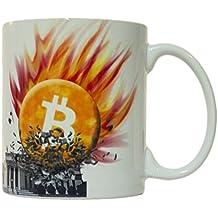 Bitcoin Smashes Federal Reserve 11oz. Coffee Mug
