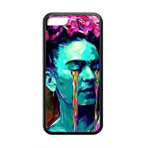 Abstract Art Cell Phone Case for iPhone 5C,Slim and Durable Plastic Case Protective [Ultra Fit] Shock Absorbing and Scratch Resistant Perfect 2 in 1