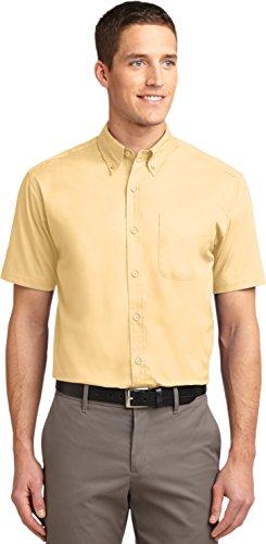 Port Authority - Short Sleeve Easy Care Shirt. S508 - Yellow / Yellow - -
