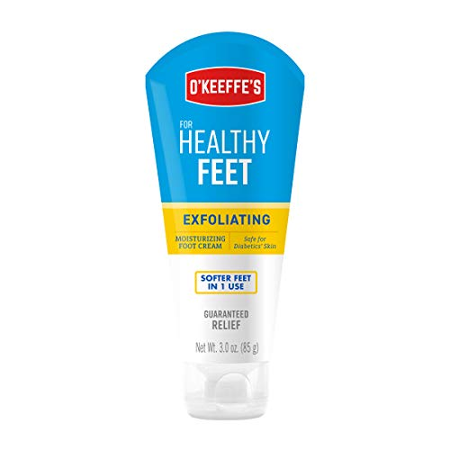 - O'Keeffe's Healthy Feet Exfoliating Foot Cream, 3 ounce Tube