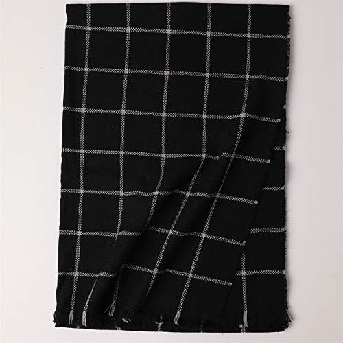 Nappe Autunno comprese Nero Caldo colore Nero E Mei Uomini Scialle Inverno 70cm Plaid Sciarpa 200 Donne Le Per 456nwxqgA