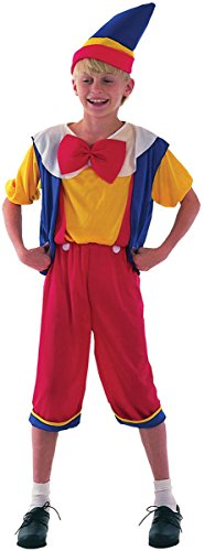 Pinocchio Costume Large 10-12 -