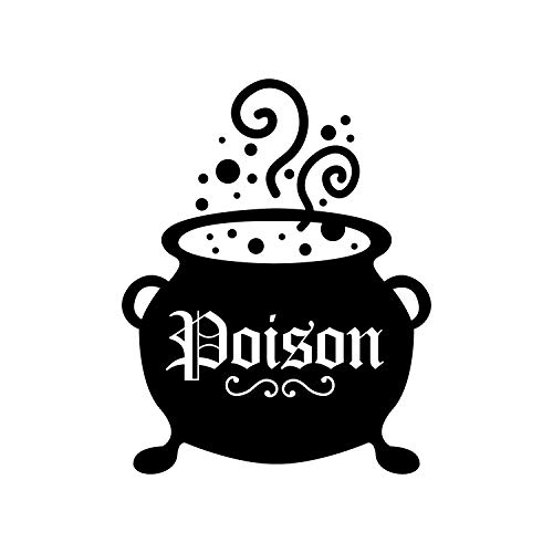 - Vinyl Wall Art Decal - Poison Pot - 28