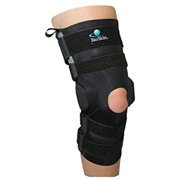 f968123658 Amazon.com: Bio Skin Gladiator Sport Ligament Knee Brace-2: Health ...