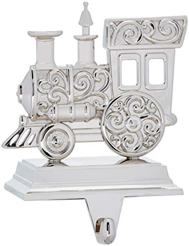 Lenox Silver & Scroll Train Stocking ()