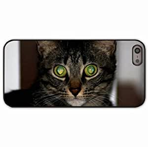 iPhone 5 5S Black Hardshell Case eyes space Desin Images Protector Back Cover
