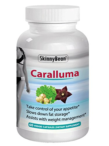 ► Strong 1200mg CARALLUMA FIMBRIATA Extract Best for Weight Loss Vegan Appetite Suppressant Diet Pills by Skinny Bean