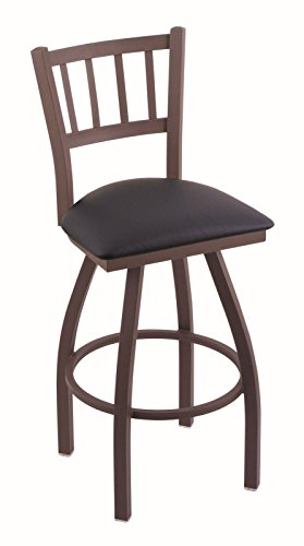 4130uX0frYL - Holland-Bar-Stool-Co-810-Contessa-25-Counter-Stool-with-Bronze-Finish-and-Swivel-Seat-Allante-Dark-Blue