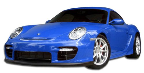 Duraflex ED-KWH-131 GT-2 Look Front Bumper Cover - 1 Piece Body Kit - Compatible For Porsche Cayman 2006-2008