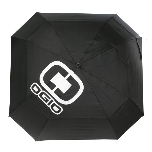 Ogio 72-Inch Golf Umbrella, Black/Blue Sky, Large by OGIO