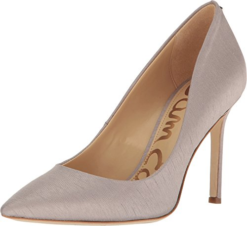 Sam Edelman Women's Hazel Grey Silk Dupioni Fabric Shoe