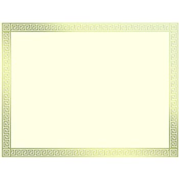 amazon com great papers gold foil channel border certificate 8 5