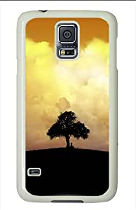 Samsung Galaxy S5 Cases and Covers - Watching The Clouds Polycarbonate Case for Samsung Galaxy S5 White